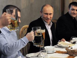 Путин и пиво с раками