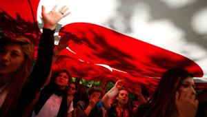 Турецкие демонстранты требуют к себе уважения