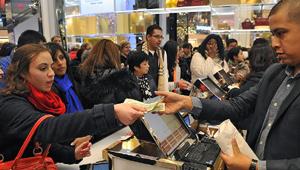 Розничные продажи в США увеличиваются