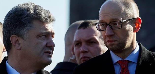 Яценюк vs Порошенко