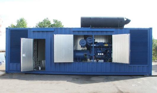 Что такое контейнерная электростанция